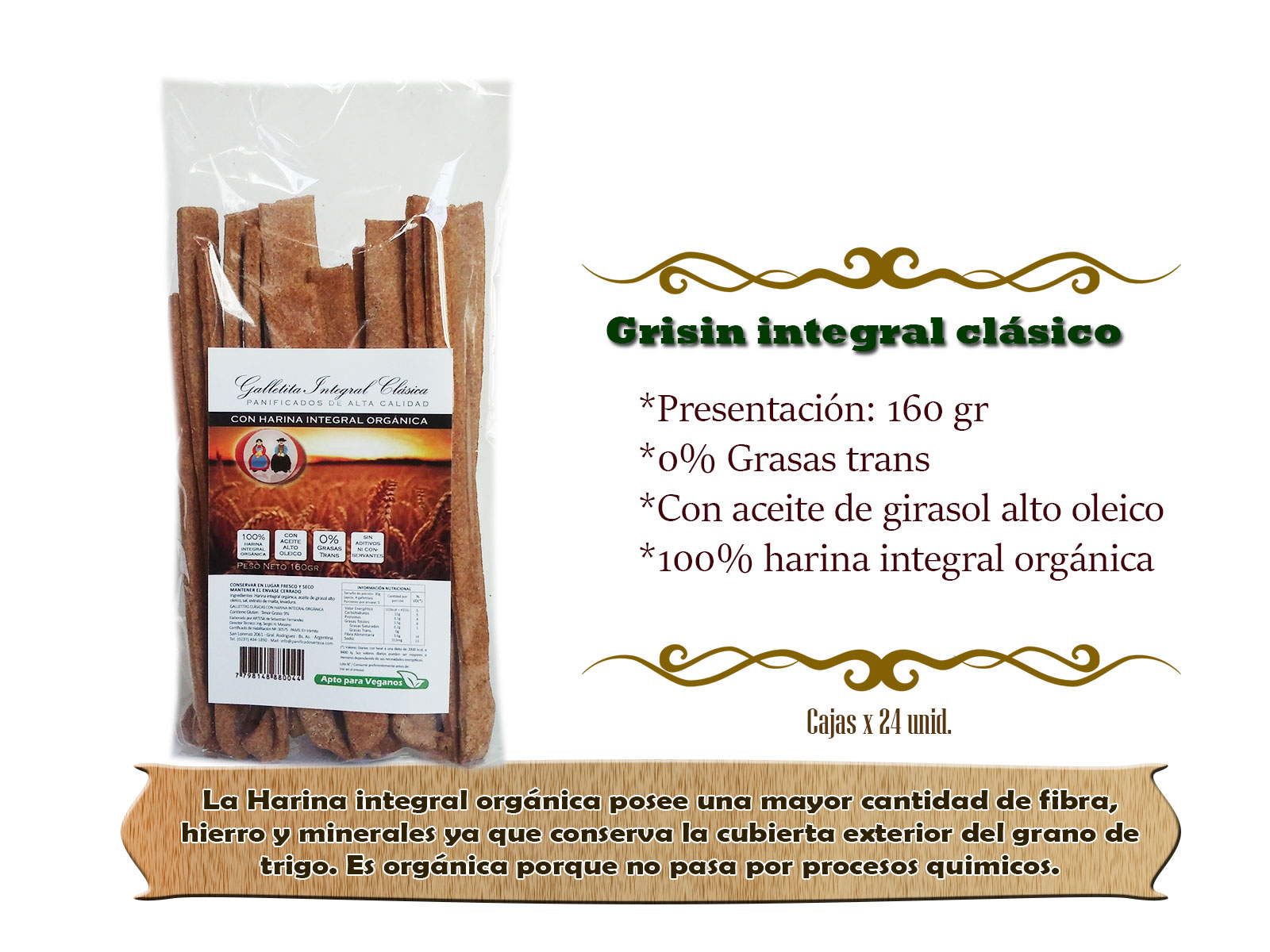 Grisin-integral-clasico