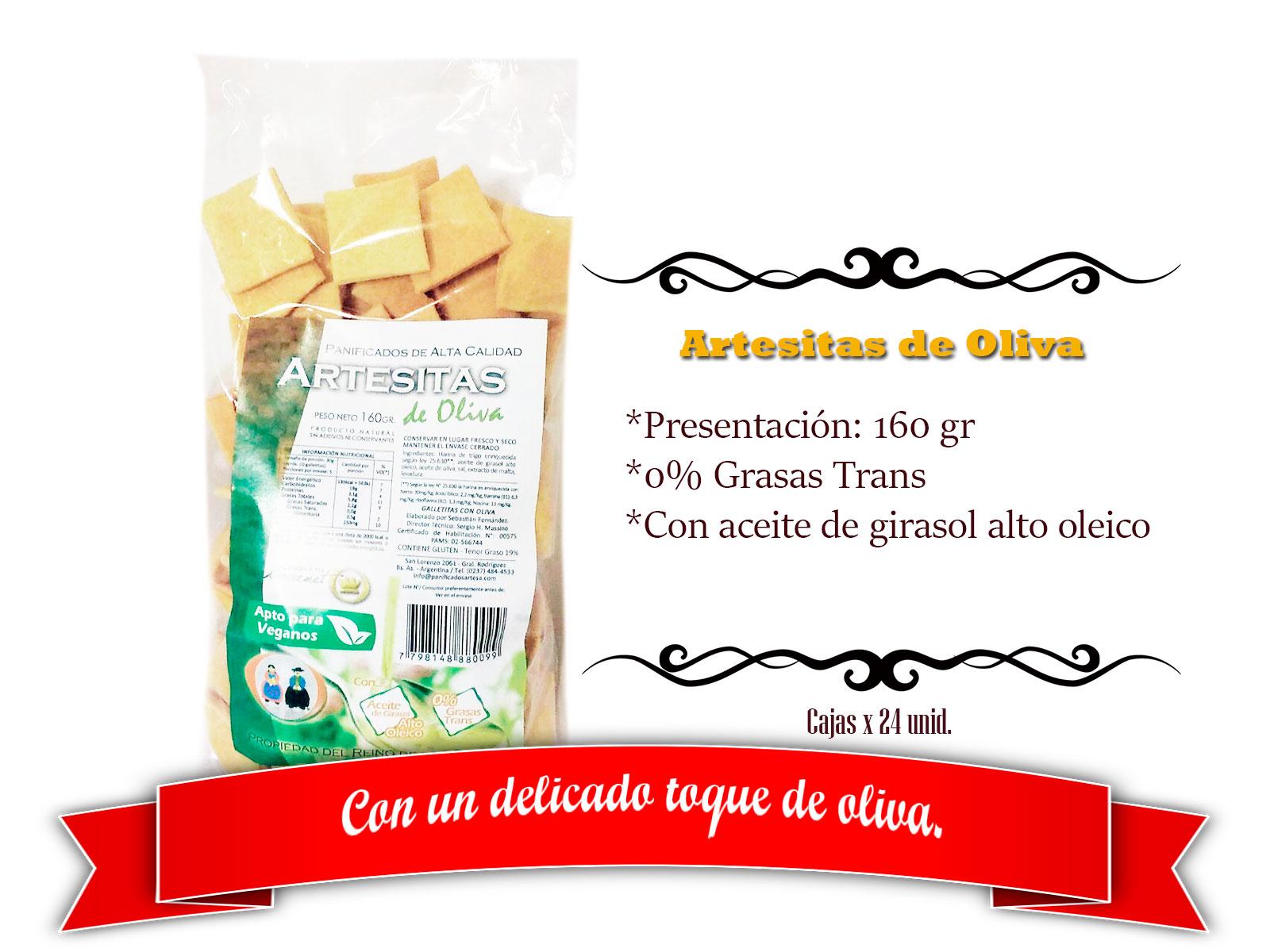 Artesitas de oliva