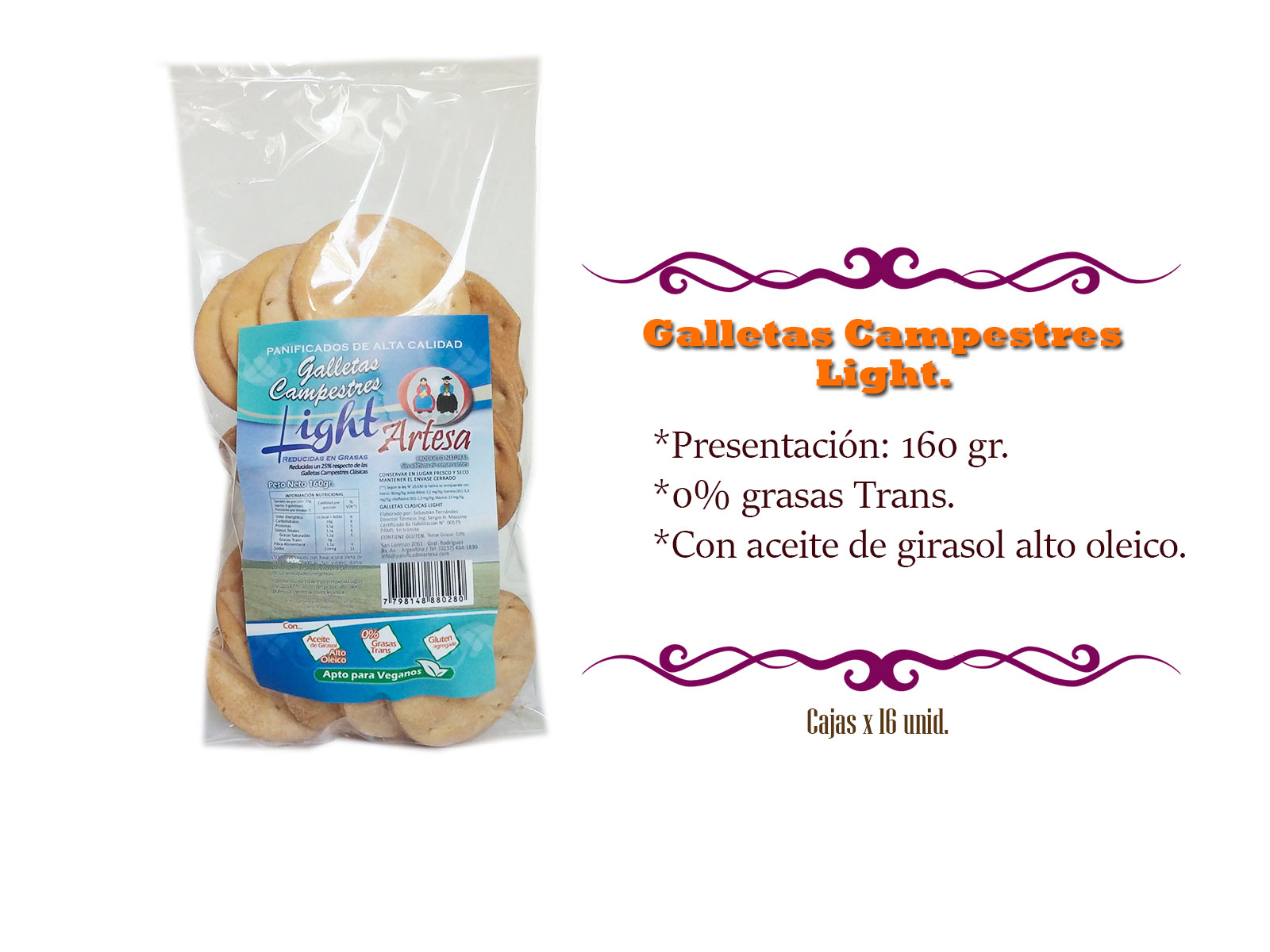 Galletas Light